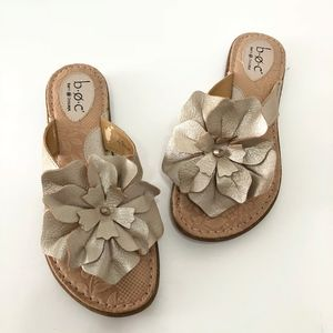 Born B.O.C. Gold Flower Women's Sandal